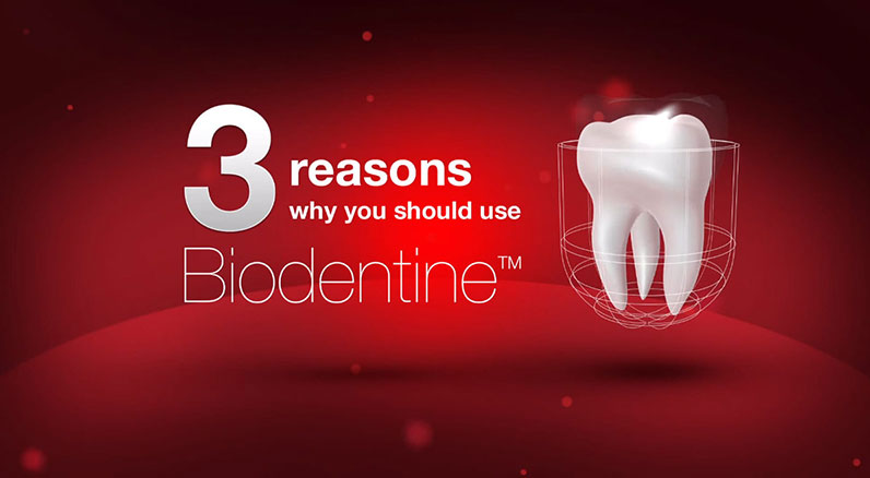 """Dentin in a Capsule"" Biodentine!"